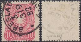 DR 1882 Nr.41 B Breites Format Sauber Gest. Breslau 3 - Oblitérés