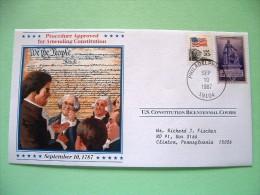 USA 1987 U.S. Constitution Bicentennial Covers - Amending Constitution - Etats-Unis