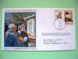 USA 1987 U.S. Constitution Bicentennial Covers - New Jersey - Wagon - Etats-Unis