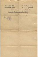 German Certificate Of Discharge - Documents