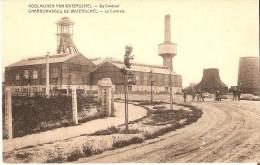 GENK - WATERSCHEI (3600) :  Koolmijnen-Charbonnages.  De Centraal - La Centrale. Petite animation. CPA