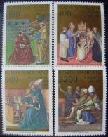 VATICANO - IVERT Nº 802/05 - NUEVOS ( ** ) 16º CENT. CONVERSION DE SAN AGUSTIN - Vaticano (Ciudad Del)