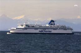 Ferry B.C. Ferries  The Spirit Of  Vancouver Island ,  B,C, Canada - Fähren