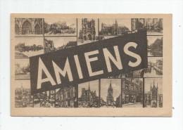 Cp , 80 , AMIENS , Multi Vues , Ed : Cie Des Arts Photomécaniques , écrite 1946 - Amiens