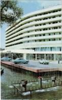 Hotel Alma-Ata - Car Volga - Fountain - Almaty - Alma-Ata - Kazakhstan USSR - 1970 - Unused - Kazakhstan