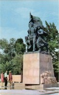 Monument To The Fighters For The Establishment Of Soviet Power - Almaty - Alma-Ata - Kazakhstan USSR - 1970 - Unused - Kazakhstan
