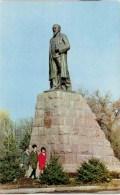 Monument To The Kazakh Great Poet-enlightener Abal Kunanbayev - Almaty - Alma-Ata - Kazakhstan USSR - 1970 - Unused - Kazakhstan