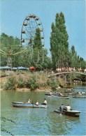 Gorky Park - Boat - Ferris Wheel - Almaty - Alma-Ata - Kazakhstan USSR - 1970 - Unused - Kazakhstan