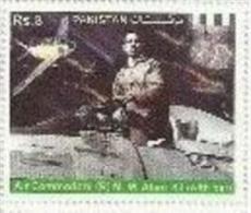 Pakistan 2014 FAMOUS PILOT OF PAKISTAN AIR FORCE 1v Mint