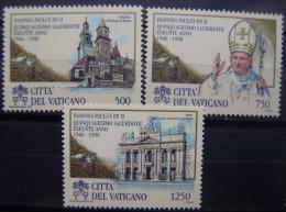 VATICANO - IVERT Nº 1043/45 - NUEVOS (**) 50º ANIV. ORGAN SACERDOTAL DE S.S. JUAN PABLO II - Verano 1996: Atlanta