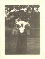 Photo (+/- 6 X 9 Cm) D'une Religieuse, Soeur, Nonne, Nun (b170) - Personnes Anonymes