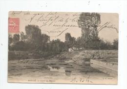 Cp , 79 , MAUZE , Canal Du MIGNON , Voyagée 1907 - Mauze Sur Le Mignon
