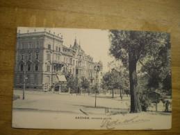 Aachen // Monheim Allee // 1905 - Aachen