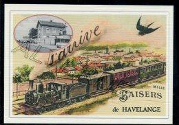 HAVELANGE ...... train souvenir  creation moderne s�rie limit�e et numerot�e 1 � 10 ... n�4 /10
