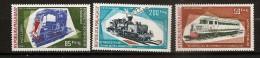 Madagascar 1974 n� PA 139 / 41 ** Train, Locomotive, Chemin de fer, Garratt, Lorry, Autorail, Micheline, Charbon, Moto