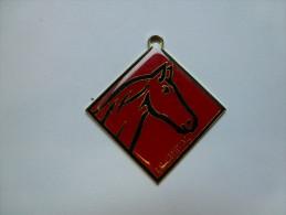 Médaille ( No Pin's ) , Cheval , La Française Des Jeux - Animaux