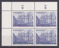 1973 , Mi 1423 ** -  4er Block Postfrisch - 100 Jahre Internationale Meteorologische Zusammenarbeit - 1945-.... 2ª República
