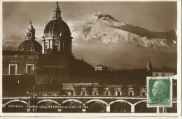 _5pk-871: Catania - Ponte Della Ferrovia CON L�ETNA: .. > Anvers Belgien