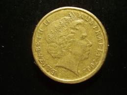 AUSTRALIA 2002 TWO DOLLARS  ABORIGINIE USED COIN GOOD CONDITION. - Decimal Coinage (1966-...)