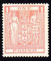 Neuseeland - Fiscalmarke SG F 158 * - Fiscaux-postaux