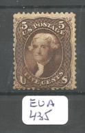 EUA Scott  76 X OG Very Good YT 21 # - Unused Stamps