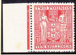 Neuseeland - Fiscalmarke SG F 163 * 1931 - Fiscaux-postaux