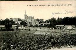 Belle  Carte  Cpa   -      Le Pellerin  Vue Prise  Du Bord De La Loire    ,animée                    D1250 - France