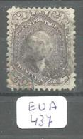 EUA Scott  99 Black Blue And Red Cancels Fine To Very Fine YT 24a # - Used Stamps