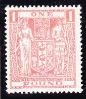 Neuseeland - Fiscalmarke SG F 203 * 1940 - Fiscaux-postaux
