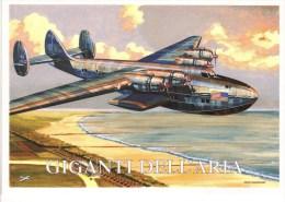 Boeing 314 'Clipper' Hydravion Hydravion - 1938 -  Dessin Par Brovarone  -  CPM - 1919-1938: Entre Guerras