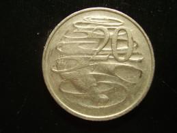 AUSTRALIA 1977 TWENTY CENTS USED COIN. - Decimal Coinage (1966-...)