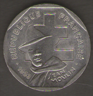 FRANCIA 2 FRANCHI 1993 JEAN MOULIN - Francia