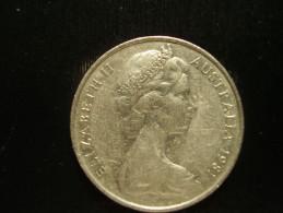 AUSTRALIA 1981 TWENTY CENTS USED COIN. - Decimal Coinage (1966-...)