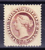 Kanada Neufundland 1865 SG.#33 * Signiert - 1865-1902