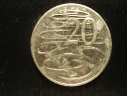 AUSTRALIA 2008 TWENTY CENTS USED COIN. - Decimal Coinage (1966-...)