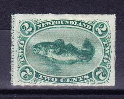 """Kanada Neufundland 1879 SG.#41 * """"Codfish"""" Rouleted - Terre-Neuve"""