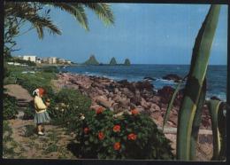 Acitrezza-Aci Trezza-sicilia pittoresca-unused,perfect shape