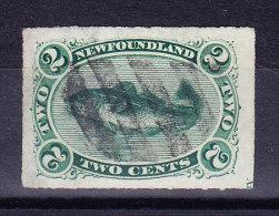 Kanada Neufundland 1879 SG.#41 Blaulich Grün Sauber Gestempelt - Neufundland