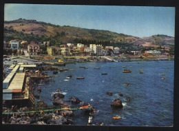 Catania-Aci castello-harbour-fishing boats-unused,perfect shape