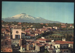 Catania-view of the etna-unused,perfect shape
