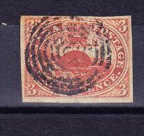 Kanada 1852-57 SG.#6 Vollrandig Gestempelt - Gebraucht