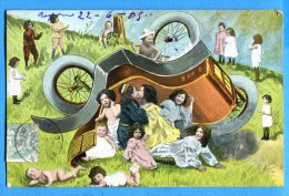 Madd228, Accident De Voiture Avec Des Bébés, Circulée 1905 - Baby's