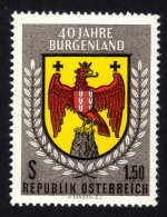 ÖSTERREICH 1961 ** Wappen Burgenland - MNH - Briefmarken
