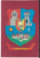 Romania Old Uncirculated Postcard  - Coat Of Arms - Timisoara City - Ansichtskarten