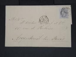 ESPAGNE-Lettre (avec Texte) De Jerez De La Fontera En 1883 Pour Argenteuil (France) à Voir  P7220 - 1875-1882 Royaume: Alphonse XII