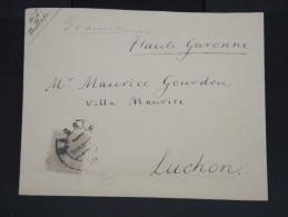 ESPAGNE-Enveloppe De Madrid Pour La France En 1887 à Voir  P7224 - 1875-1882 Royaume: Alphonse XII