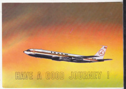 Romania Old Uncirculated Postcard  -  Aviation - Tarom - Boeing 707 - 320 C - 1946-....: Moderne