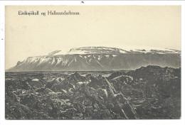 ///  CPA - ISLANDE - Eiriksjokull Og Hallmundarhraun   // - Islande