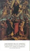 SANTINO  ASSUNZIONE FRA GLI APOSTOLI ABBAZIA DI S. MARIA IN COSMEDIN ISOLA DI S. SOFIA FORLI' - Santini