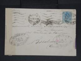 ESPAGNE-Enveloppe De Madrid Pour Bordeaux En 1918 Avec Controle Postal  à Voir P7234 - Cartas